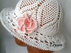 Летние шляпы крючком - Весь мир леди. гольфы вязаные спицами схема.