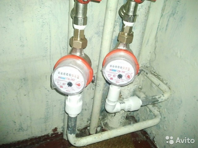 Счётчики для воды установка своими руками