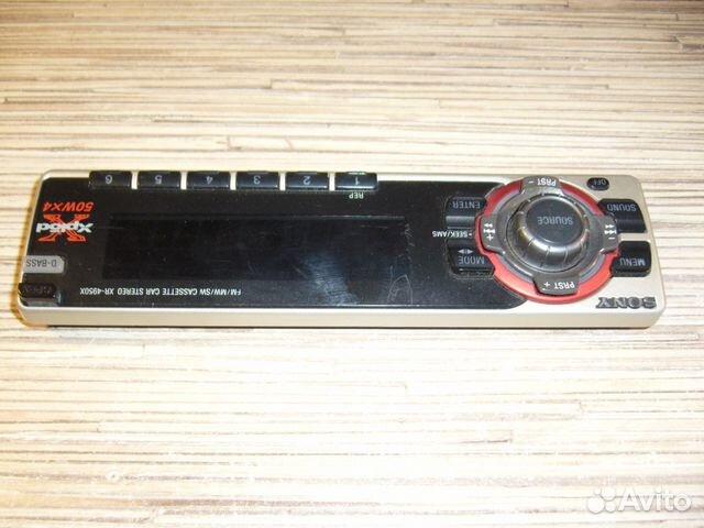 Sony XR-4950X — фотография