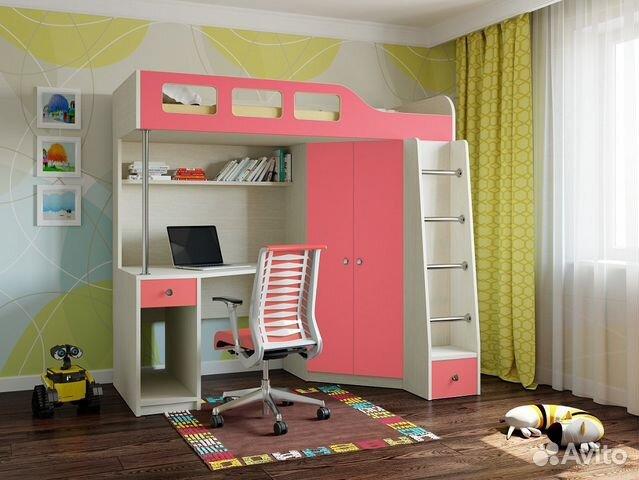 Лестница для кровати-чердака  спб