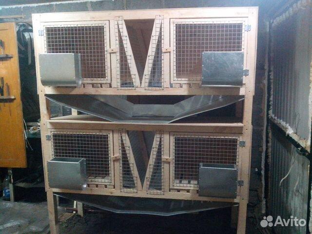 Клетка для кроликов 89530112542 купить 1