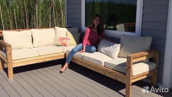 Как сделать диван своими руками для дачи