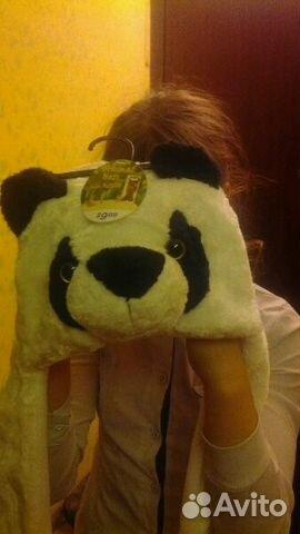 Шапка-панда купить 1