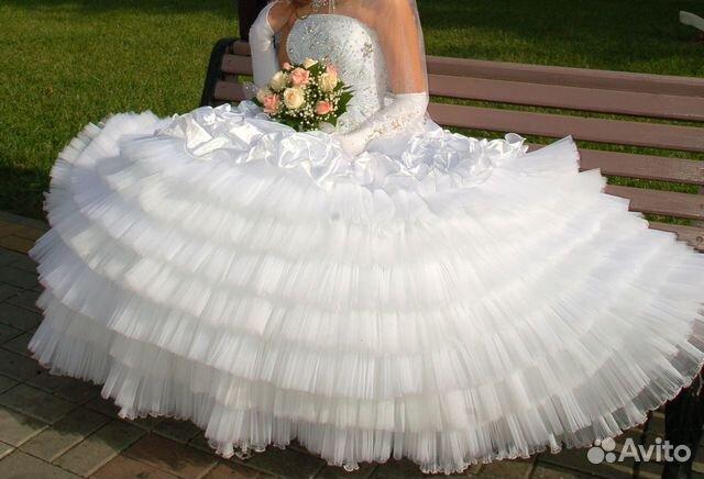 Покупалось дорого.  Объявление о продаже Очень красивое свадебное платье в Краснодарском крае на AVITO.ru.