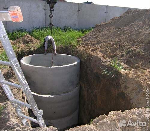 скважина и канализация расстояние