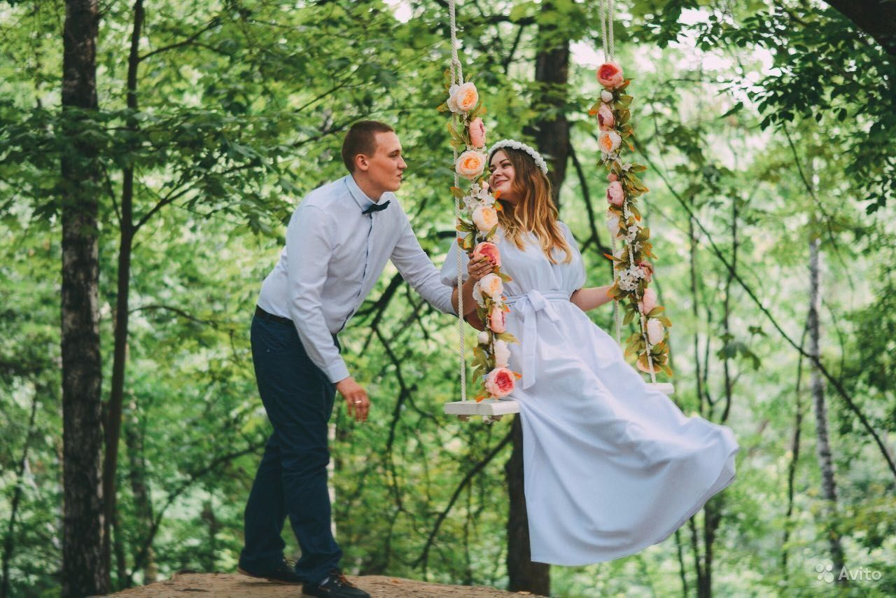 свадебные качели для фотосессии томск все, слезами
