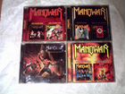 CD Manowar, Pantera, Dark Moor,Motorhead, Slayer