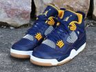 Nike Air Jordan IV dunk from above