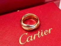 Cartier Trinity оригинальное золотое кольцо