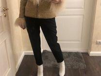 Куртка с воротником из ламы — Одежда, обувь, аксессуары в Санкт-Петербурге