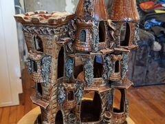 Домик и камни для аквариума