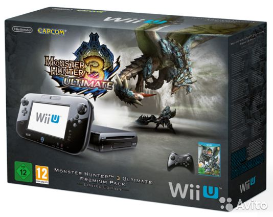 Wii U Premium Pack Limited Edition (5.3.2 версия)— фотография №1
