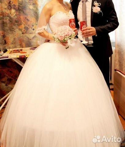 Свадебное платье авито миасс