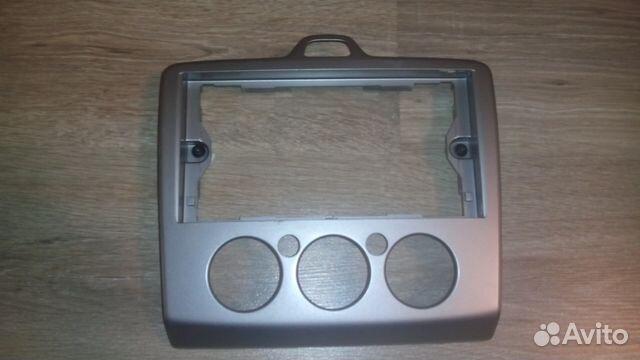 рамка на магнитолу квадрат ford focus 2