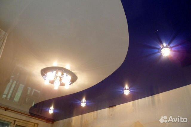 фото спаянные натяжные потолки
