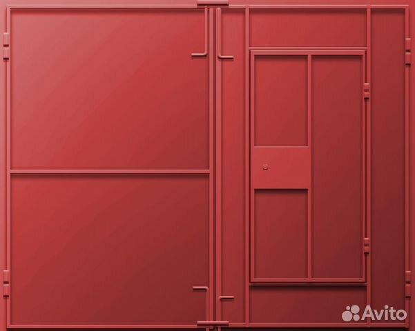 металлические двери ворота цены
