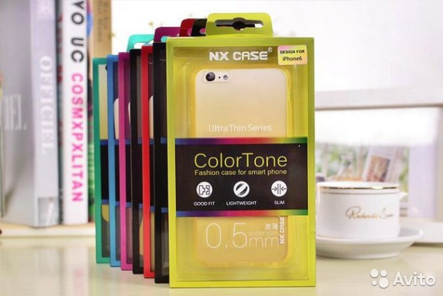 Чехол NX case ColorTone для iPhone 6/6s (4.7)— фотография №1