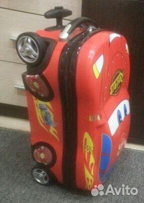597c5f8e4ebb Новый чемодан на колесах Тачка Маквин машинка | Festima.Ru ...