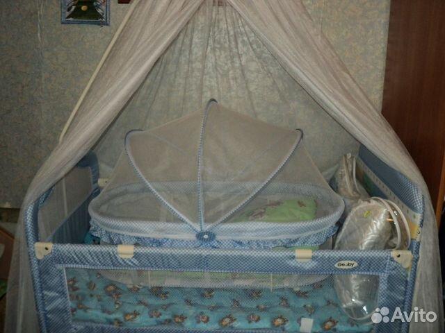 кроватка с люлькой внутри чем понять