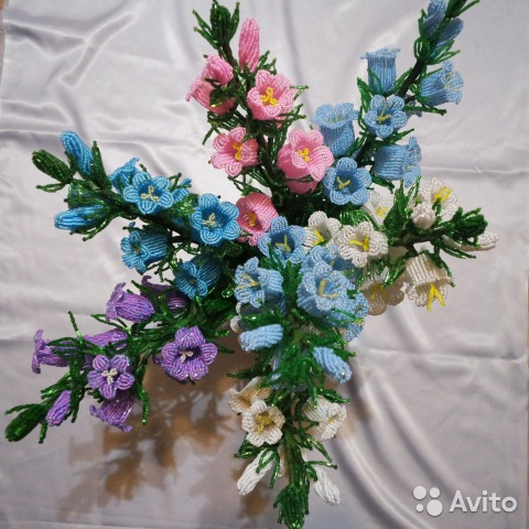 Колокольчики цветы купить в москве