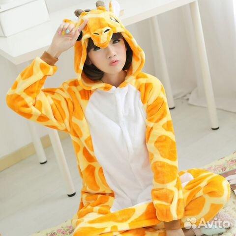 Новая. Пижама кигуруми жираф(есть другие варианты)  f991bc4249c66