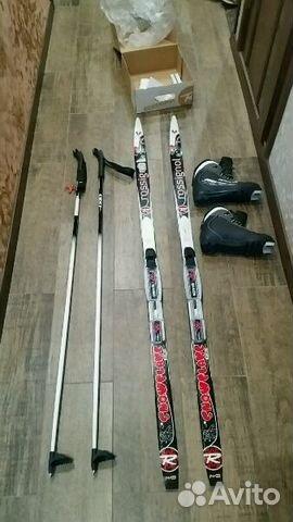 2437764cc2e1 Комплект беговых лыж с ботинками купить в Саратовской области на ...