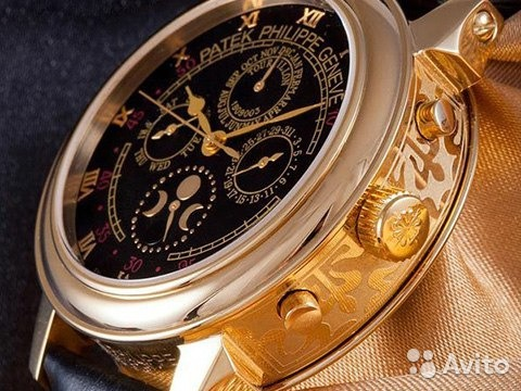 718a30802ec Часы Patek Philippe механика + Подарок Портмоне mo