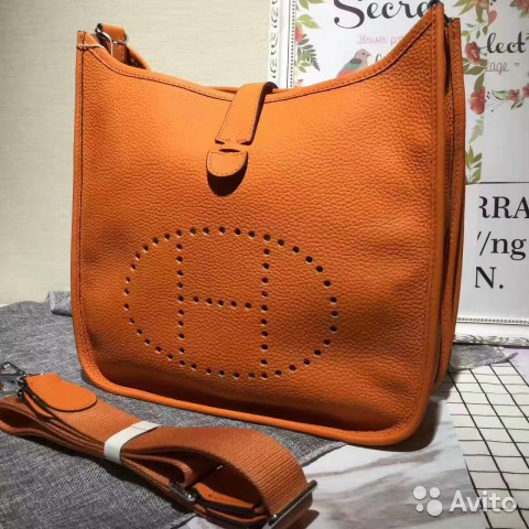 036496123bd8 Сумка оранжевая Hermes Evelyne Orange | Festima.Ru - Мониторинг ...