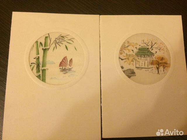 Вьетнамские открытки объемные, днем