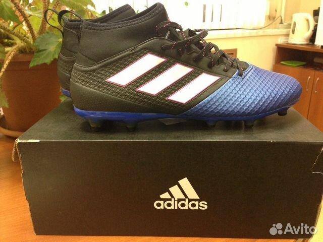 4524553bece2 Бутсы футбольные Adidas размер 42.5 б у 1 раз купить в Самарской ...