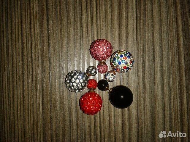 Серьги-шарики