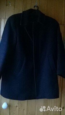 Пальто зимнее черное