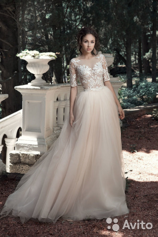 684ebfa2ff0 Свадебное платье Belfaso (боди +юбка