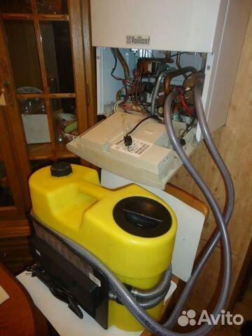 Промывки теплообменников газовых колонок пластинчатый теплообменник лимонной кислоты