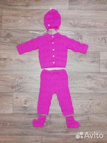 костюм на девочку вязаный купить в тамбовской области на Avito