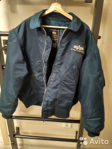 580ad834 Куртка лётная Alpha industries CWU-45 navy | Festima.Ru - Мониторинг ...
