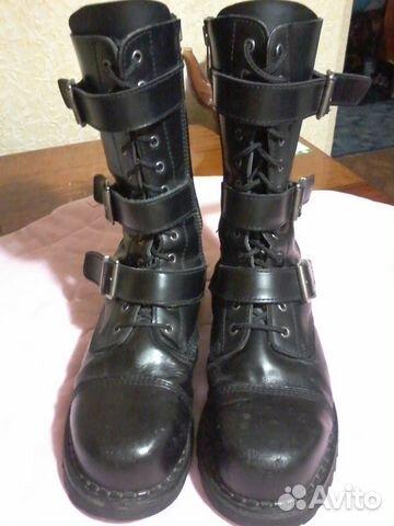 c2eeb4715880 Мужские кожаные брендовые высокие ботинки купить в Краснодарском ...