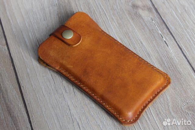 2c0c45810e61 Чехол для телефона кожаный ручной работы купить в Москве на Avito ...
