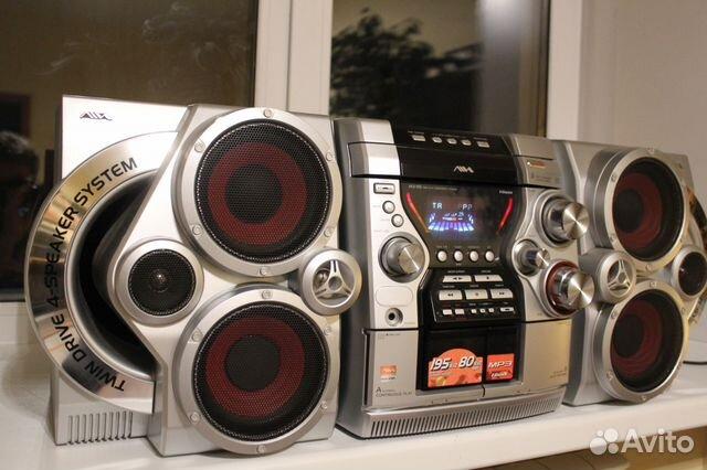 Aiwa CX-JN5 айва музыкальный центр большой громкий— фотография №1 925a7a38b49