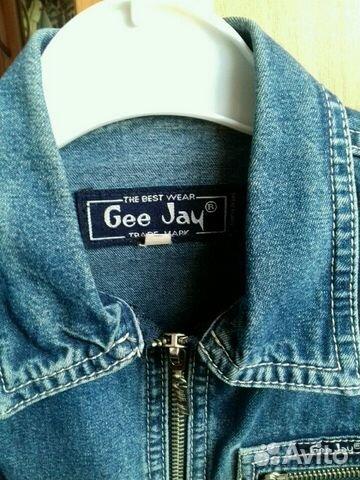 Пиджак-рубашка джинс купить 3