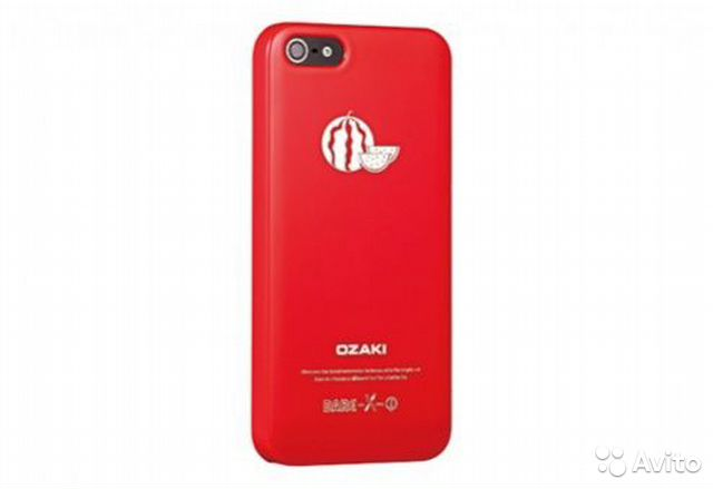 iPhone 5 5S Ozaki O. Case Fruit Арбуз— фотография №1