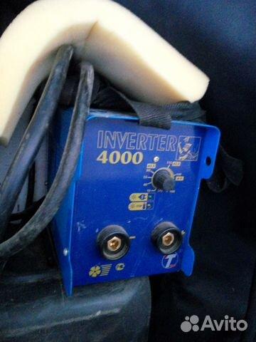 Сварочный аппарат инвентор 4000 бензиновый генератор цены вепрь