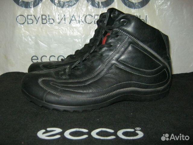 0e84b56848b99a Ecco ботинки - высокие кеды кожаные 36 р-р | Festima.Ru - Мониторинг ...