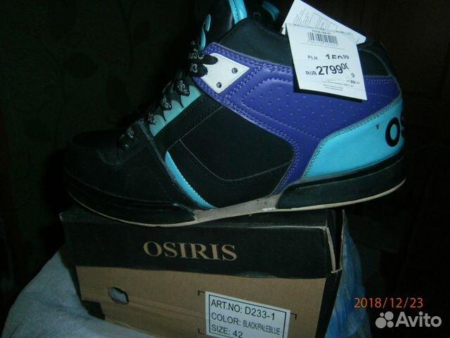 Зимние кроссовки osiris 89193233610 купить 1