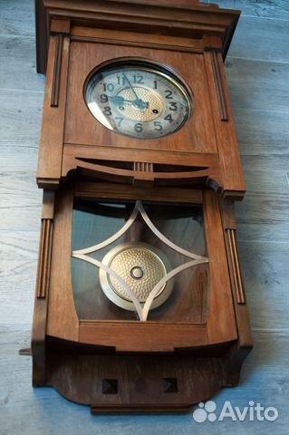 Часы настенные Gustav Becker, старинные. 1912 г купить 4