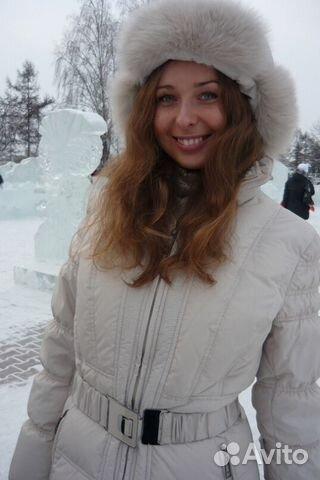 ba70a3a99bdb Пуховик женский Karoyna белый удлиненный M 44-46— фотография №1