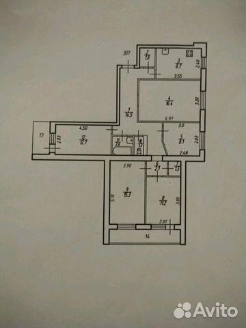 Продается пятикомнатная квартира за 4 500 000 рублей. г Тула, ул Кирова, д 19.