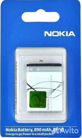 Аккумулятор BL-5B для Nokia 3220/5140/N80 Оригинал