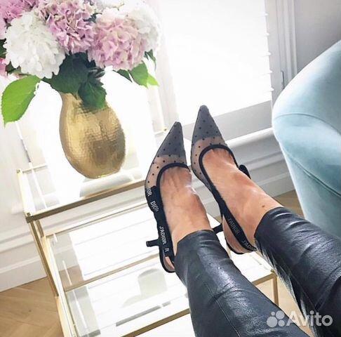 39f10467b Туфли Dior горошек купить в Москве на Avito — Объявления на сайте Авито