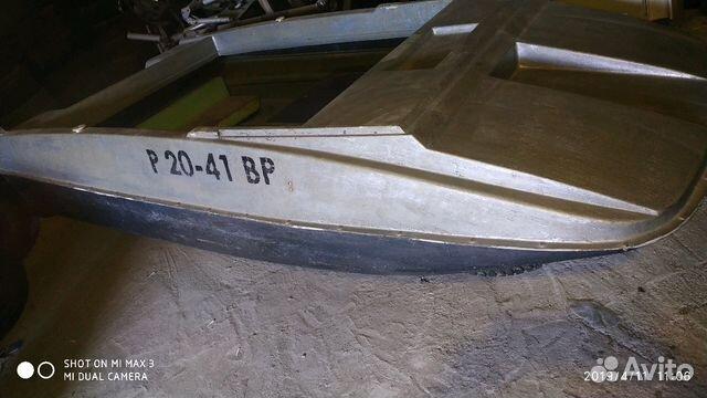 89805377242 Пластиковая лодка 35кг